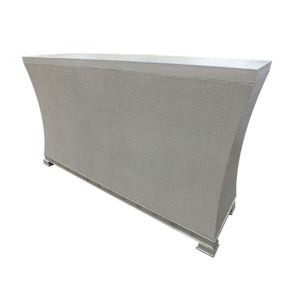 115 U2013 Linen And Silver Pop Up TV Cabinet ...