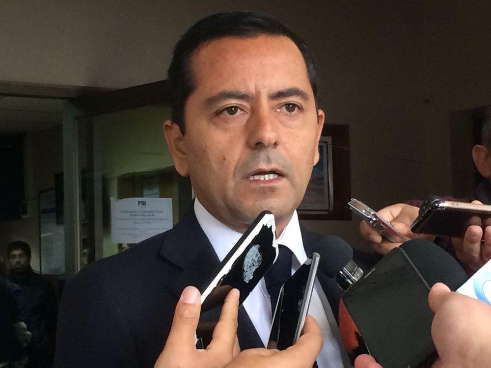 José Luis Gallegos, el jefe de la prefectura de la PDI de Ñuble.