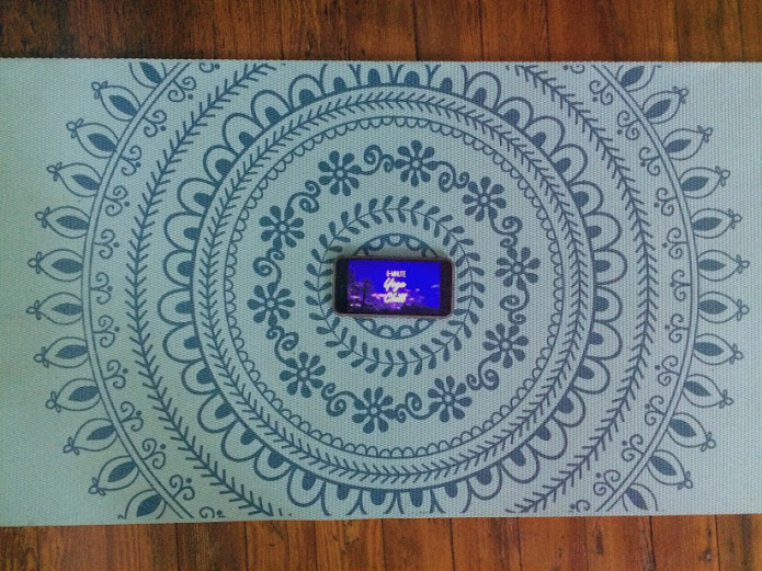 Yoga mat is from Gaiam and it's wonderful!