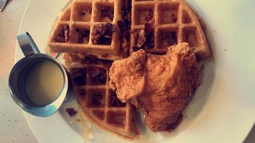Nashville Hot Chicken and Waffle