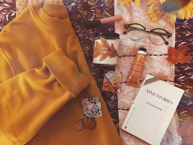 early autumn essentials🍂🧡🍁