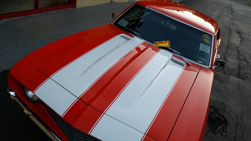 "1969 ""real deal"" Z28 Camaro  sold in 2015"