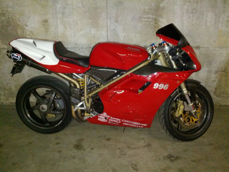Numbered  1999 Ducati 996S  #149 fully documented, sold in 2014