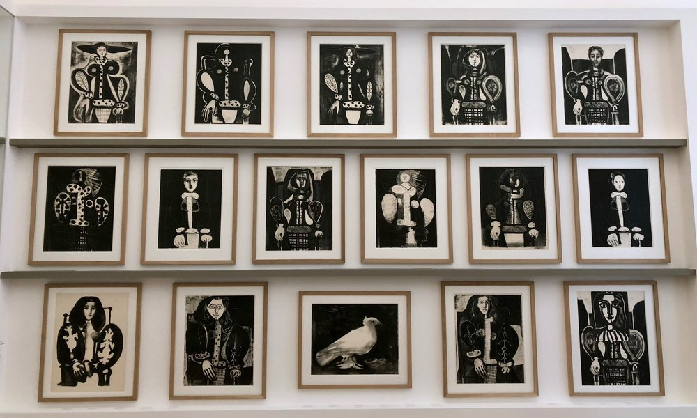 picasso museum lithographs