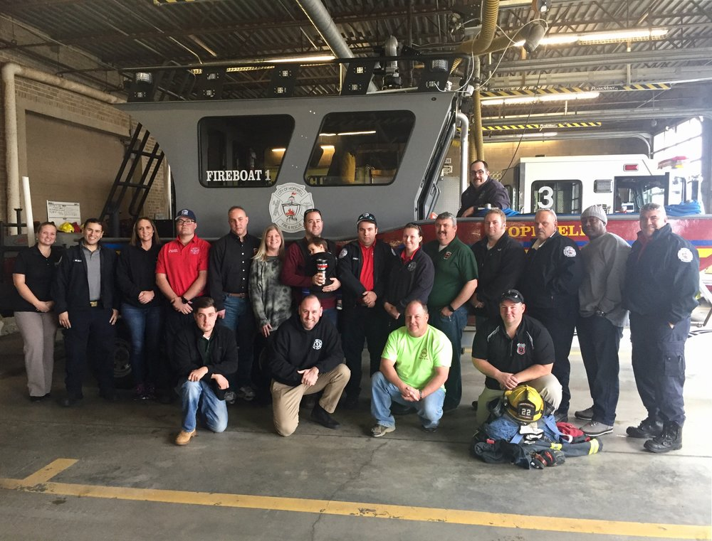 Members of Hopewell Fire and Navy Region Mid-Atlantic Fire & Emergency Services learned how to be peer support mentors and how to better help their brothers and sisters in the fire service.