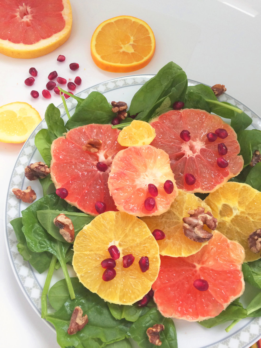 Sweet Citrus Salad. The Wild Manifesto.