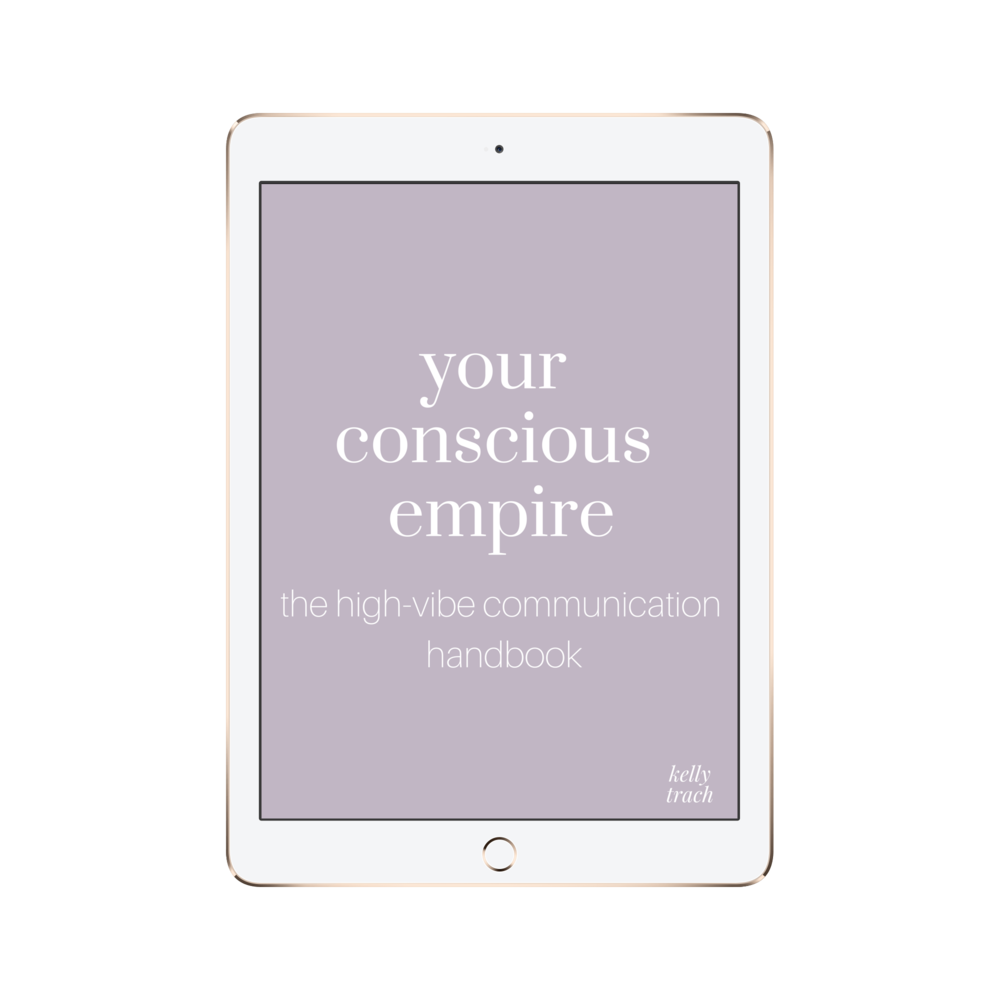 The High-Vibe Communication Handbook - Master the art of high-vibe communication, spread your light, and make your impact on the world. This is all about how to properly write, speak, talk and engage in your audience. Public speaking, writing emails, and sharing your message is truly an art. How you communicate with people is the difference between an average income and an exceptional one. With this guide, you'll be ready to rise.