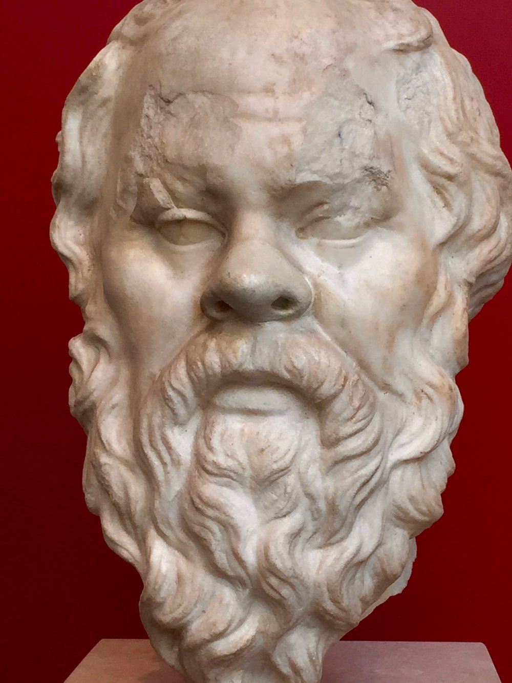 "Socrates nearly always features in syllogism examples, and for good reason. He was willing to die by hemlock poisoning rather than be banished from his beloved Athens for the crime of fostering subversive critical thinking in the public arena. He claimed no original knowledge and left no writings of his own. His wisdom lives on because his life and work were championed in the works of Plato. Socrates declares (in Plato's Theaetetus: 150) that ""god constrains me to serve as midwife, but has debarred me from giving birth.""  Socrates' maieutic method (mid-wife-as-opposed-to-didact) is, of course, the watchword for effective, constructivist TOK teaching!"