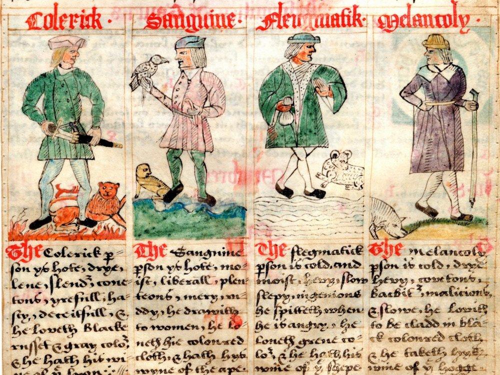 Four humors in Tudor medicine