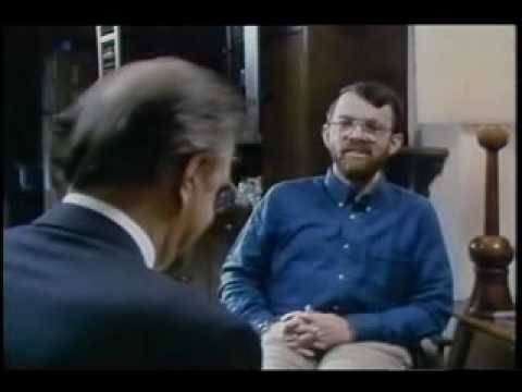 Dr. Endel Tulving interviewing amnesic patient Kent Cochrane, who was involved in a motorcycle accident that left him with permanent severe amnesia.