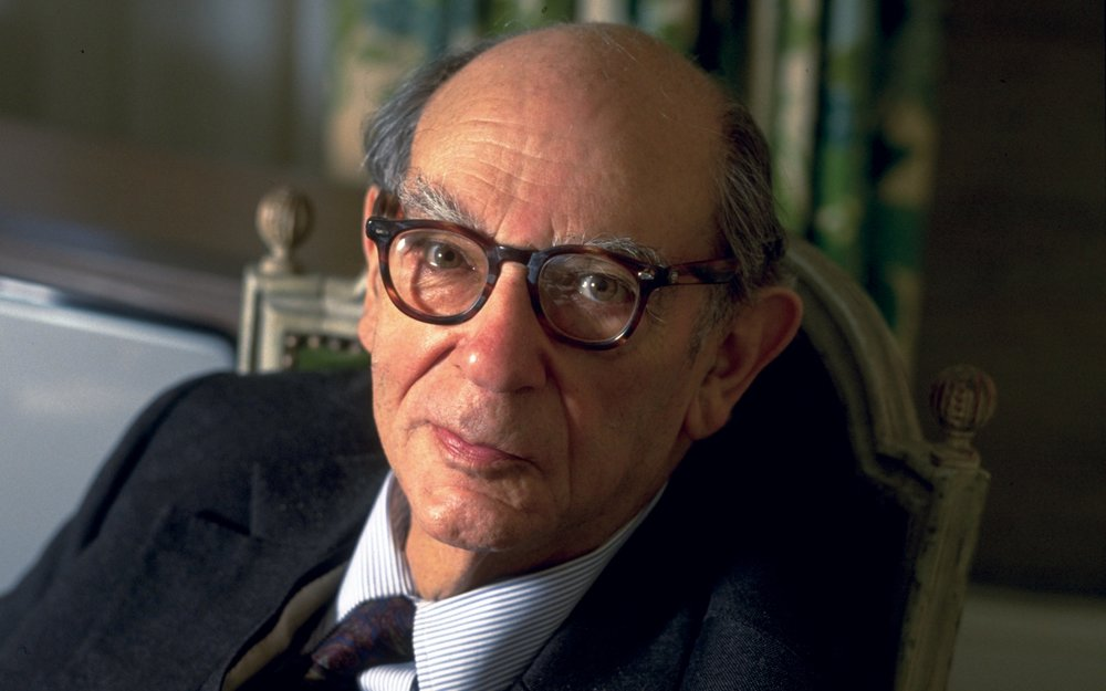Isaiah Berlin.   Photo: Sophie Bassouls/Sygma/Corbis