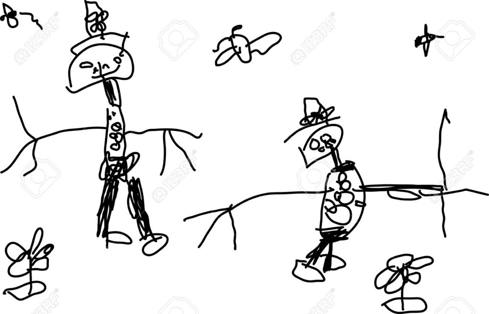 8710477-Child-s-drawing-of-a-two-funny-people-on-white-Stock-Vector-drawing.jpg