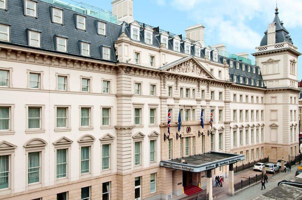 Hilton London Paddington - Family Rooms, WiFi,Fitness Center, Restaurant, Pet Friendly