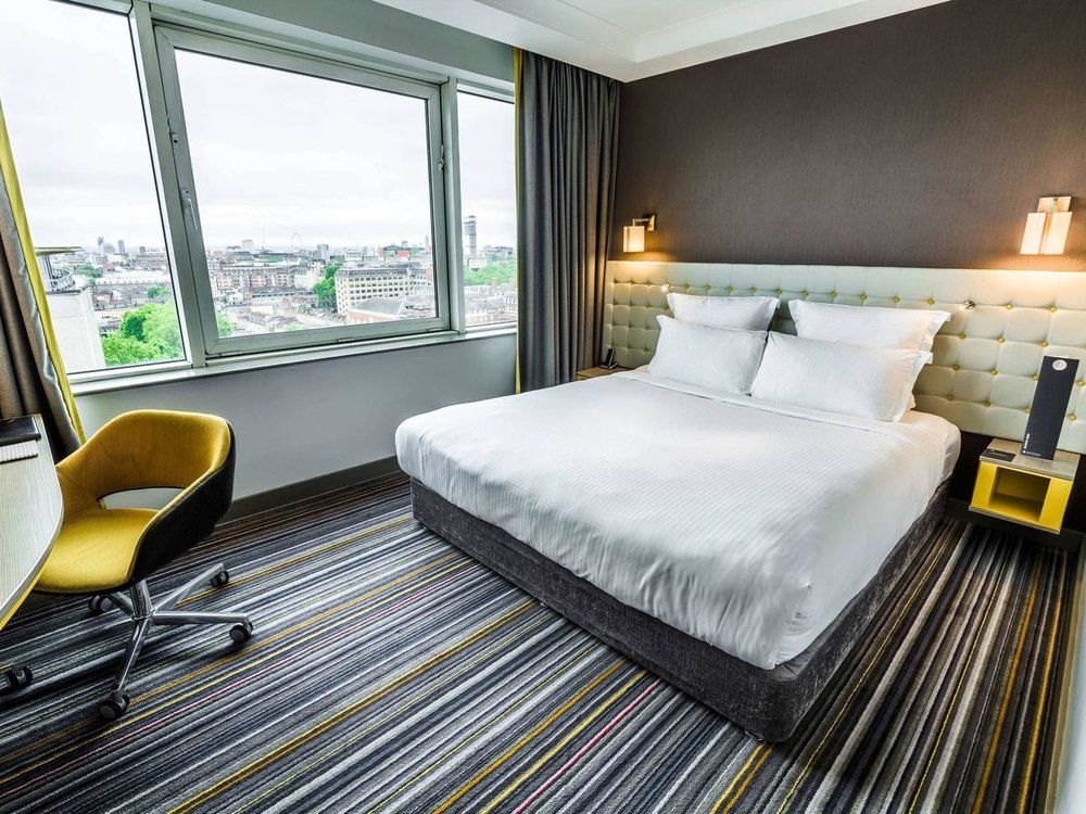 Pullman London St Pancras - Free WiFi, Non-Smoking Rooms, Restaurant, very good Fitness Center