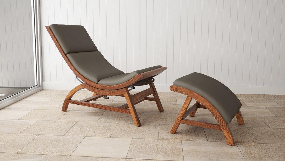 Essence Chair in Walnut and Shiitake