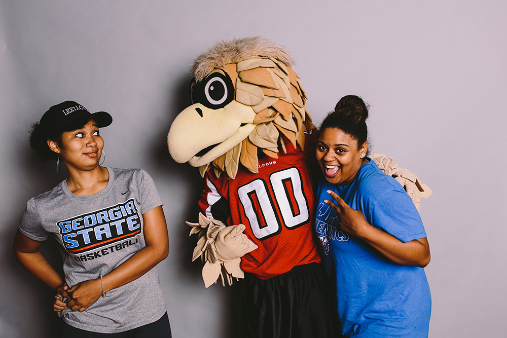 Photobooth With Freddie The Falcon! Part 63