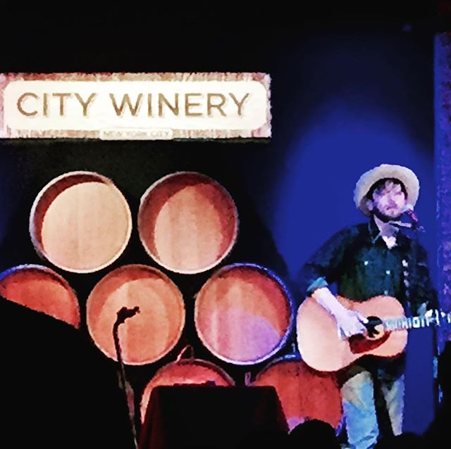The great @travislinville and the also great @citywinerynyc