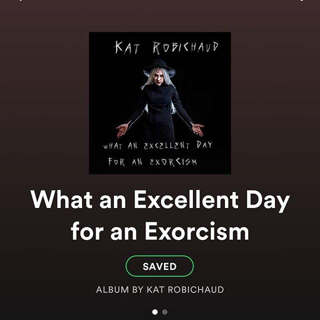 "@katrowbeeshow is BACK with her rockin new tune ""What An Excellent Day for an Exorcism""! Go take a listen!"