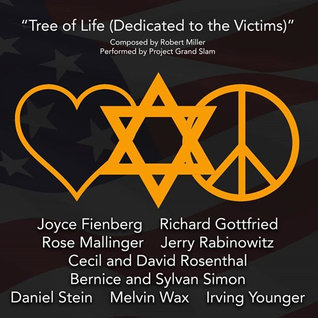 "@projectgrndslam is releasing a special song today - ""Tree of Life (Dedicated to the Victims)"" was written in response to the senseless, tragic shooting on Oct. 27th at the Tree of Life synagogue in Pittsburgh. All proceeds from streaming or purchasing this song will be donated to the @gofundme started for the victims families. Please listen and share so we can do our part to help this community heal from this tragedy."