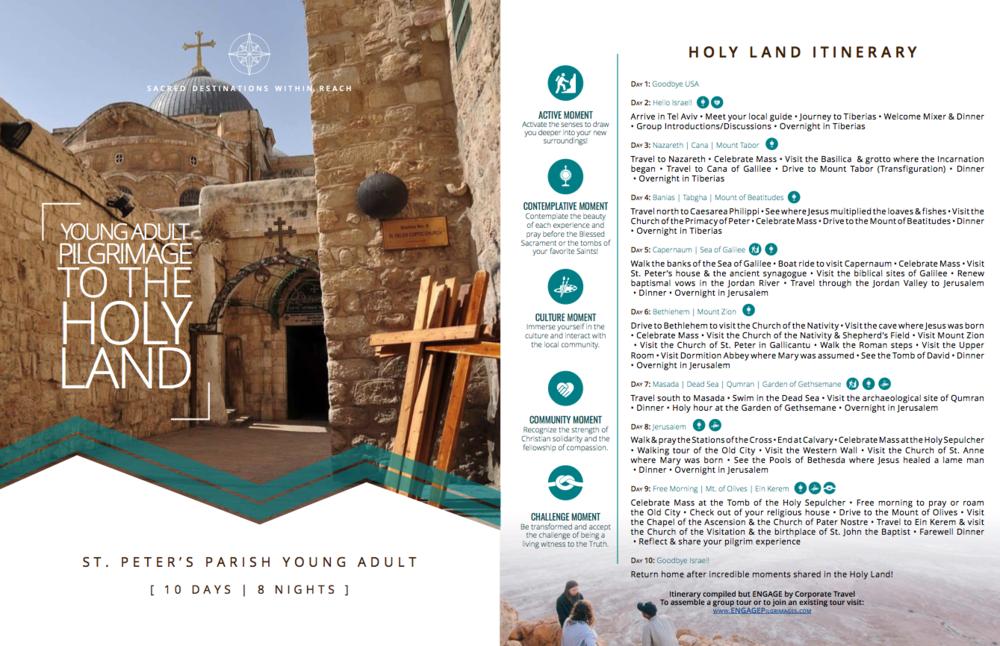 Holy Land_Itinerary