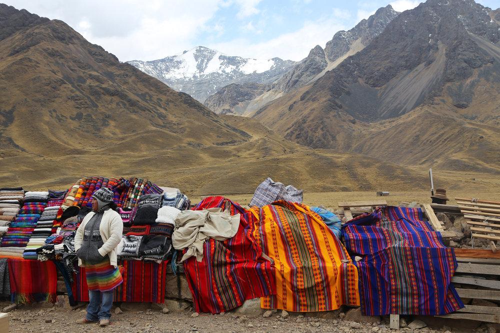 La Raya Pass, Peru, 2016