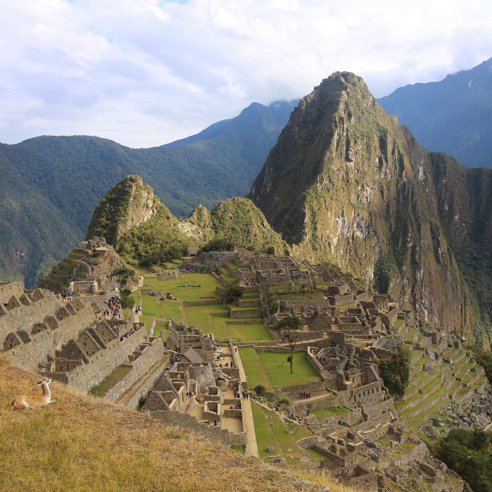 Machu Picchu, Peru, 2016
