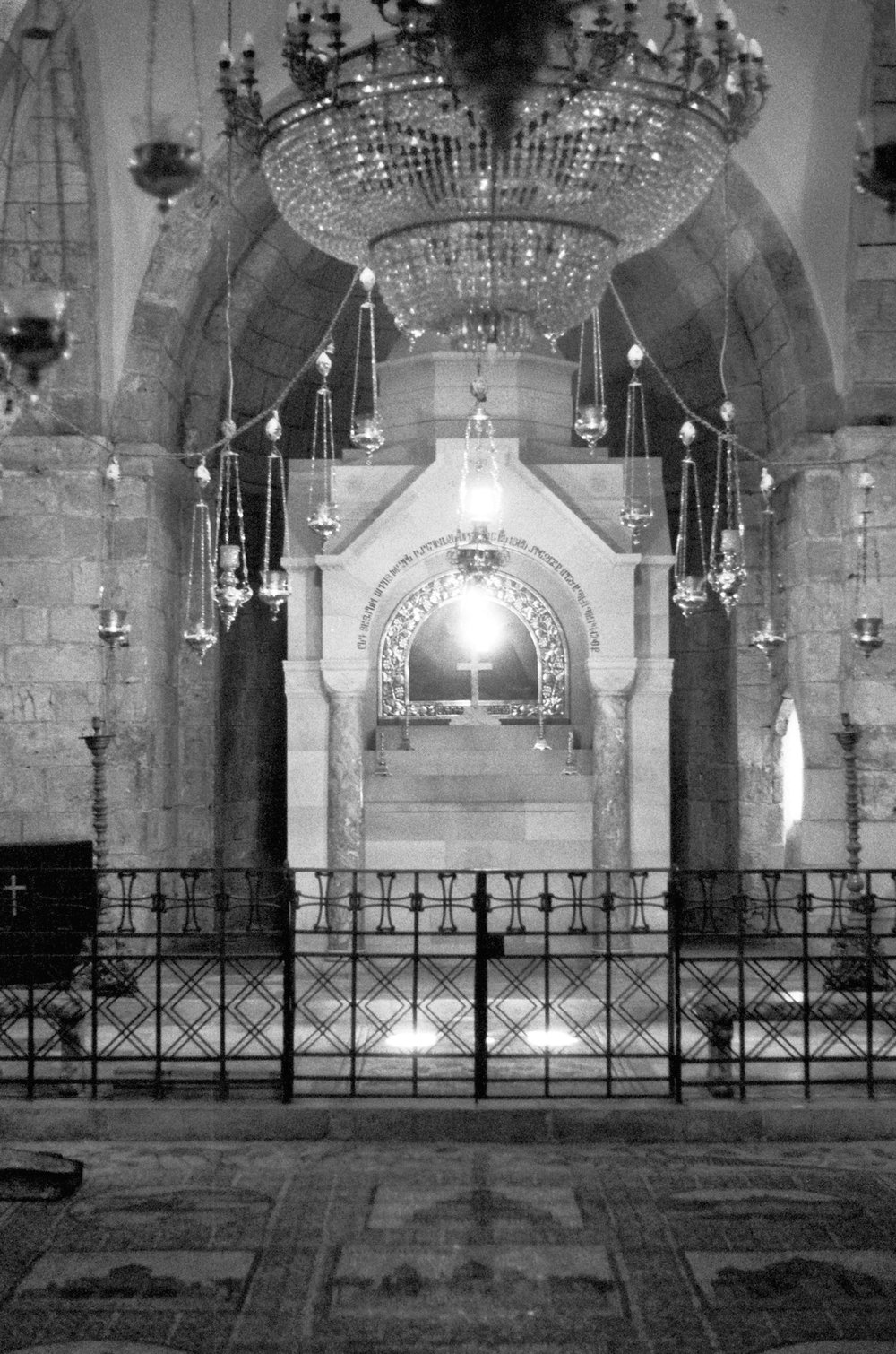 Church of the Holy Sepulchre, Jerusalem 2017