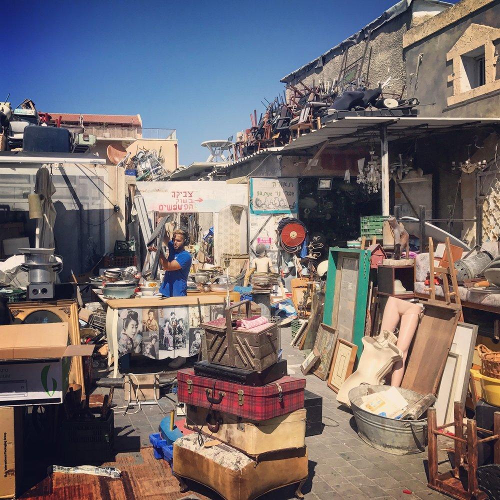 Flea Market in Jaffa