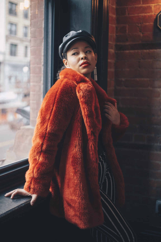 Faux Fur: H&M