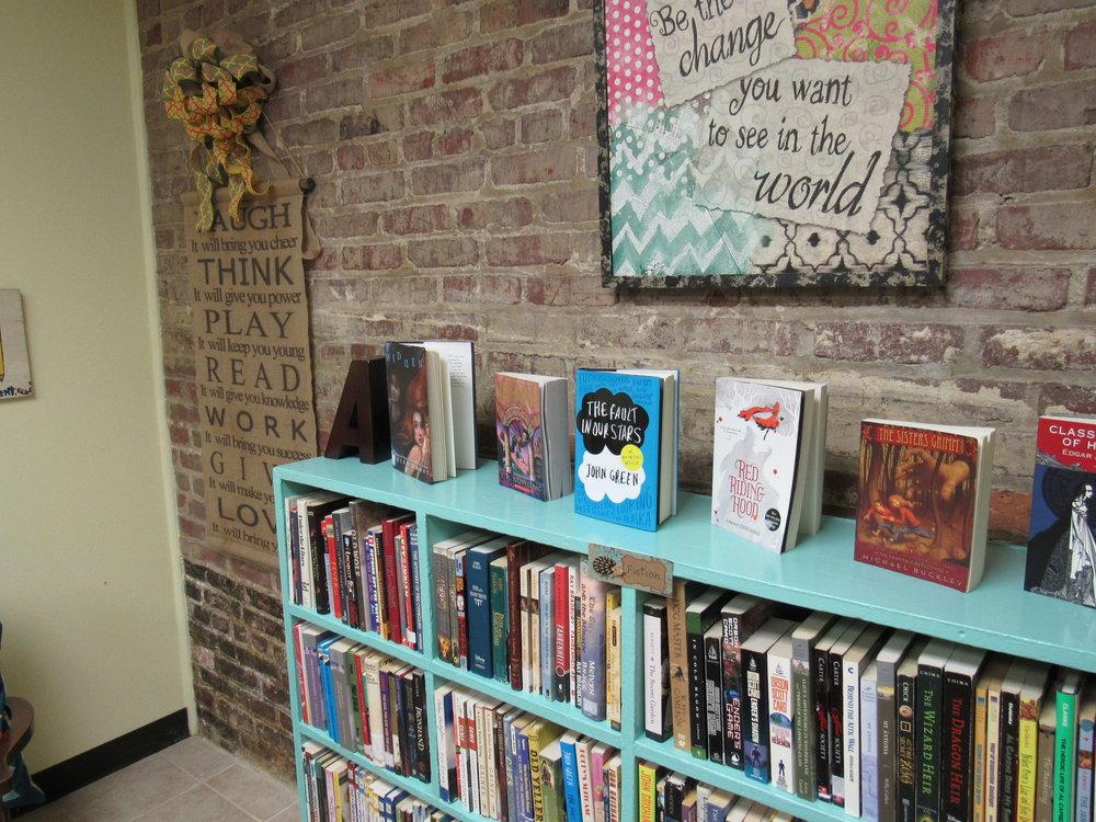 Library at CADA