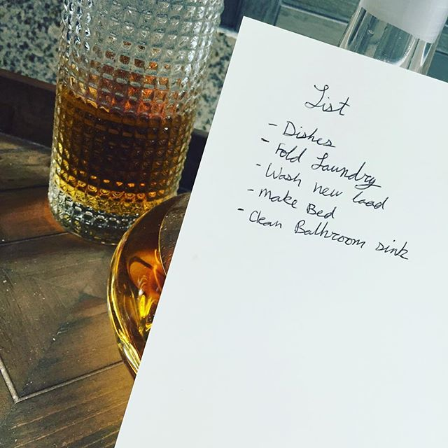 Really subtle, wife. #honeydolist #todobeforedrinks