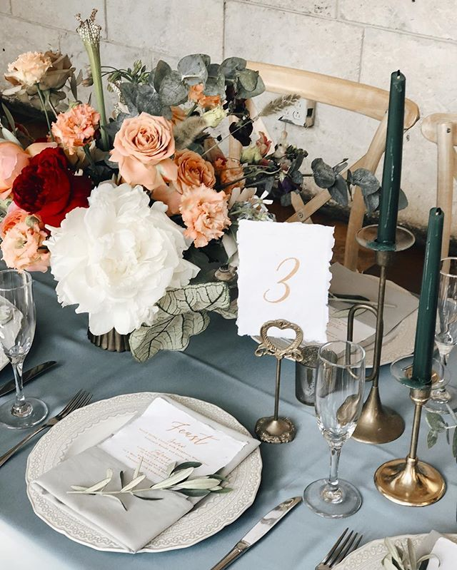 Repost from @everafterflorist When we began the design process for this wedding it was no surprise to hear the brides vision. Knowing her for so long made it so much easier. I felt like all of the decisions were easy ones to make. She was very thoughtful about the linen color and the place setting and even the color of the candle sticks. It was all important. When we are designing for clients we want to have this approach. Often times we cut corners in design on elements that are outside of the budget or that don't feel are important enough. There is always a way to make even the most minimal detail important. It all starts with a good understanding of what story you want to tell. This one was one of history and rich soulful tones.  #DesisPatofGold #DesPatitoLoving #DesiandPatrick #MrsMagner #everafterflorist  #socoalicea #SocoAliceaWeddings  #miamiweddingcoordinator #love #amazing #miamiflorist #destinationweddings #everafterwed #eventplanner #thespanishmonastery  #fortlauderdaleweddingplanner #miamiweddingplanner #spanishmonasterywedding #engagement  #weddingplannerfortlauderdale  #vizcaya #soulmates #fairytalelove #vizcayaweddings #everafterflorist #ancientspanishmonasterywedding #erikadelgadophoto #miamiweddingweddingplanner #weddingplannermiami