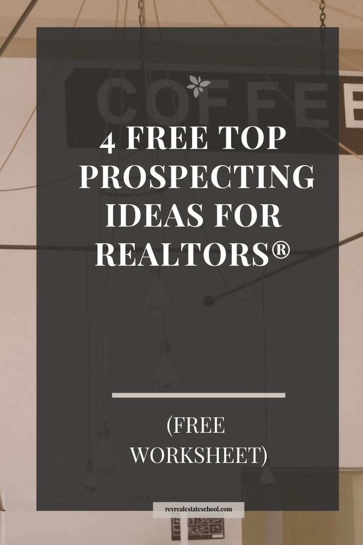 Prospecting Ideas for Realtors