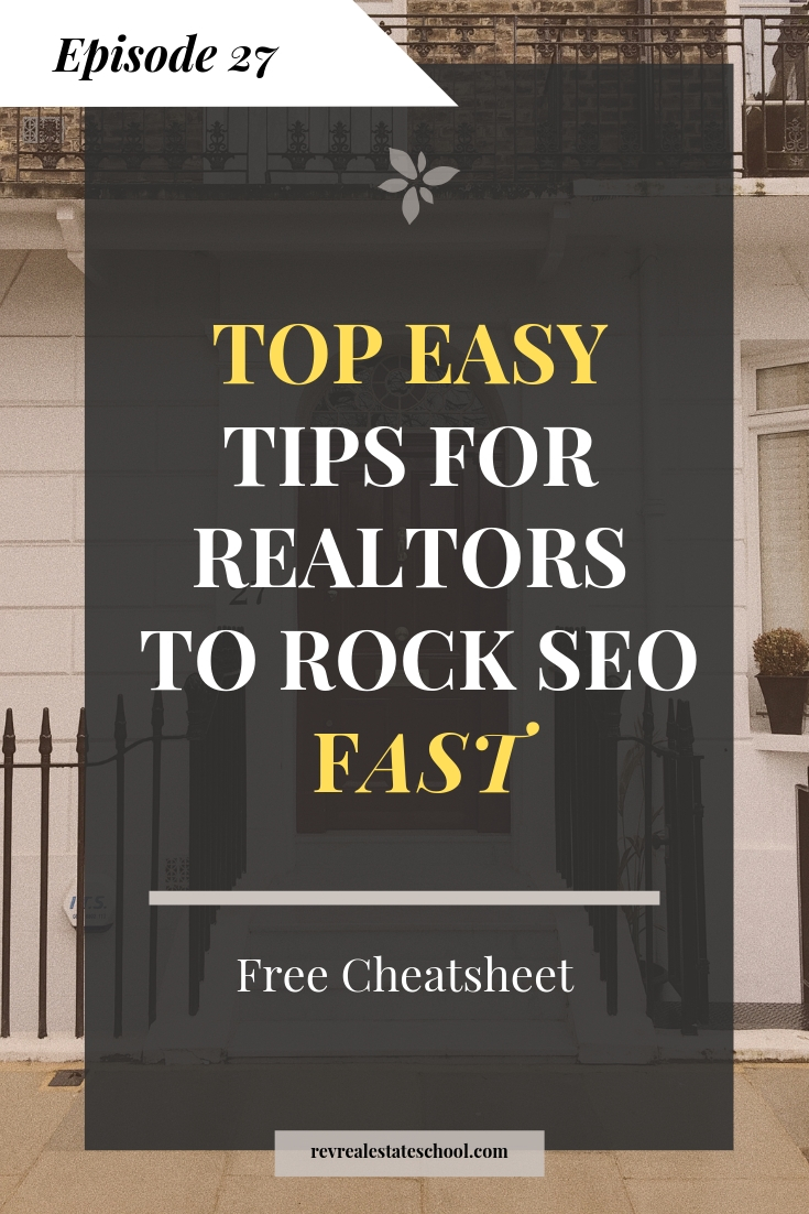 Realtor SEO Tips