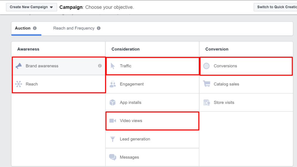 Facebook Ad Objections (Commonly Used)