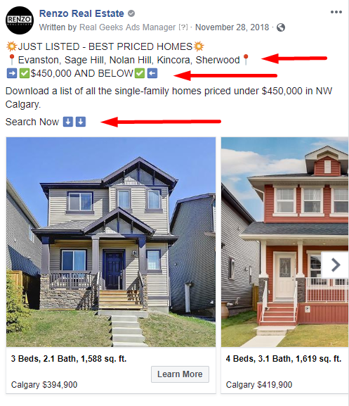 Facebook Ad Seller Real Estate