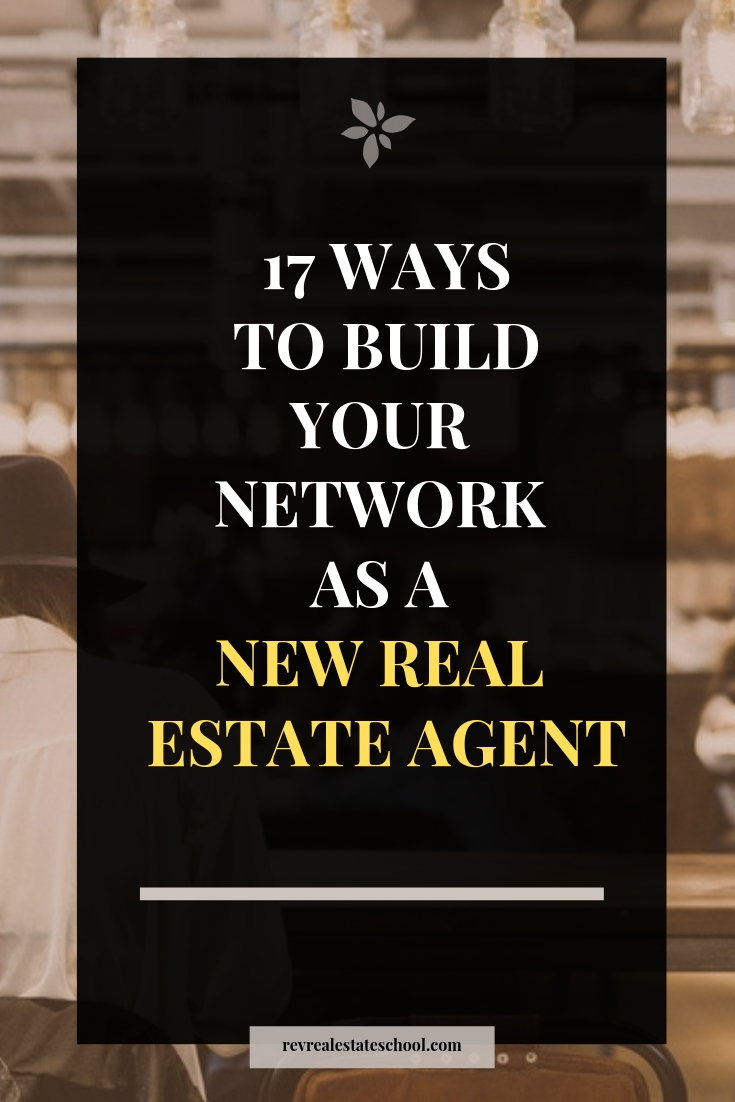 Build Your Network as a New Real Estate Agent