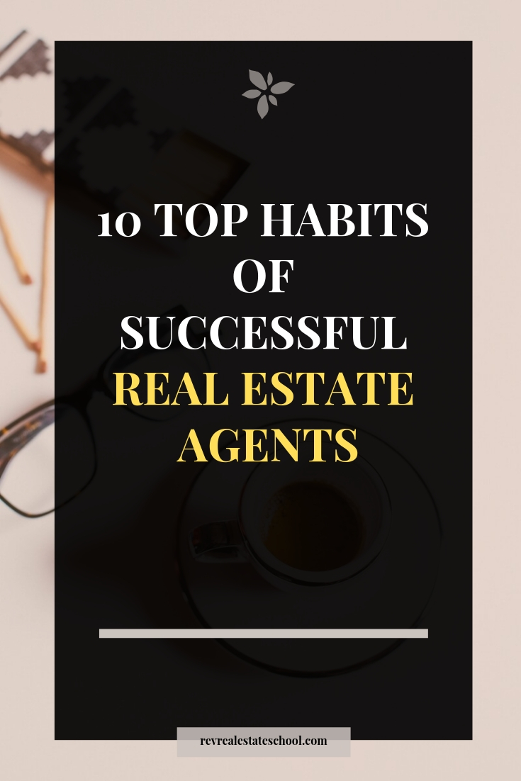 Successful Real Estate Agent Habits