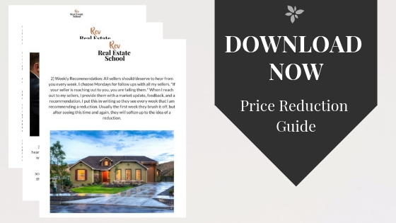 Price Reduction Strategy Real Estate