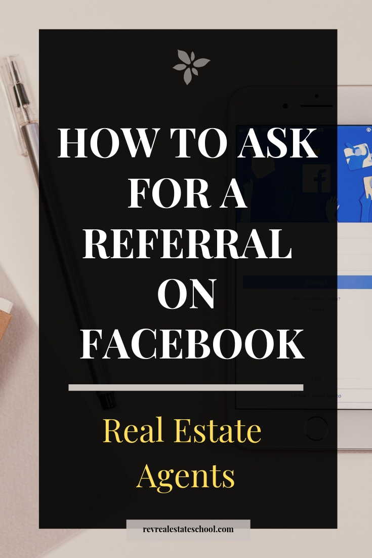 How to ask for a referral on facebook in real estate