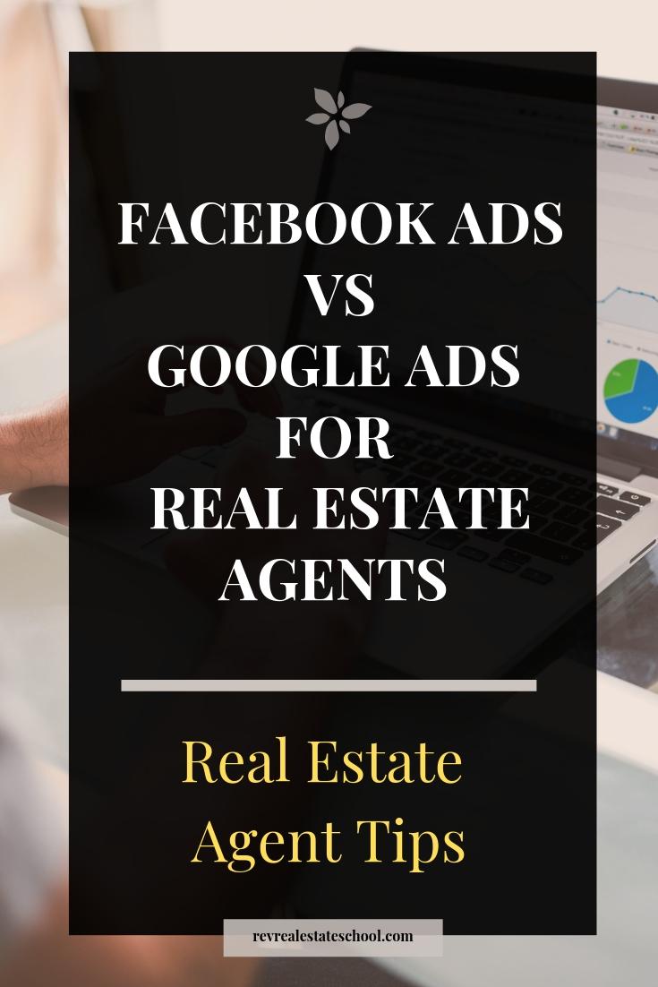 Facebook Ads vs Google Ads for Real Estate Agents
