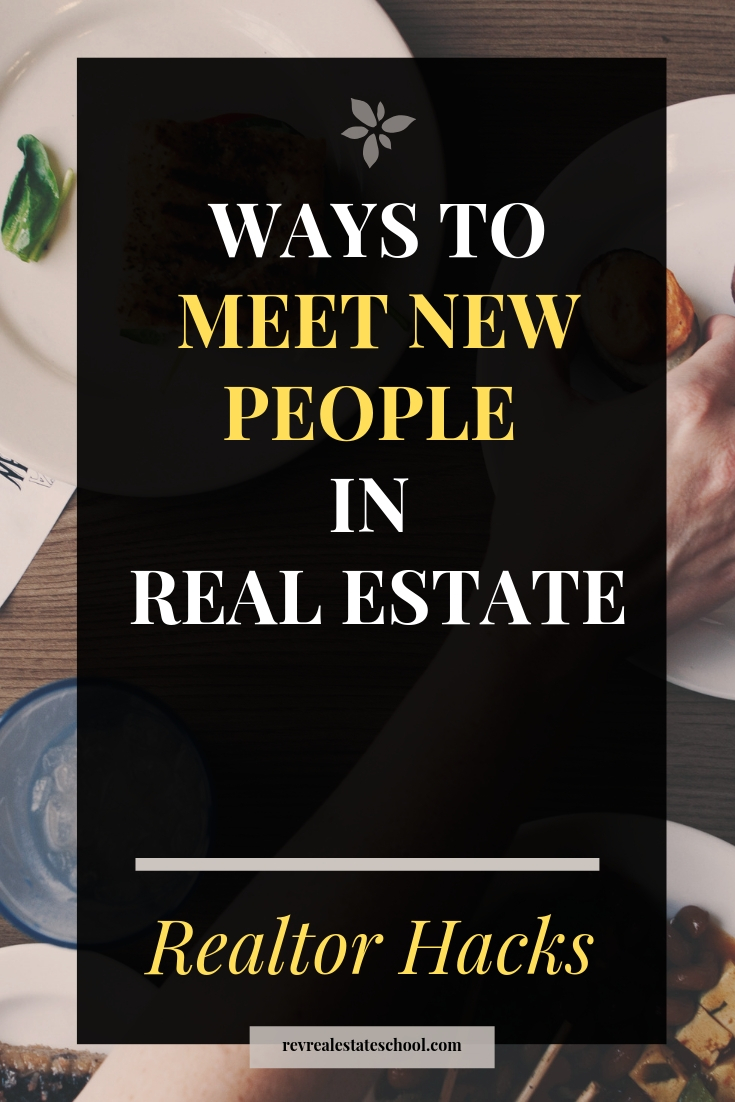Ways To Meet New People in Real Estate
