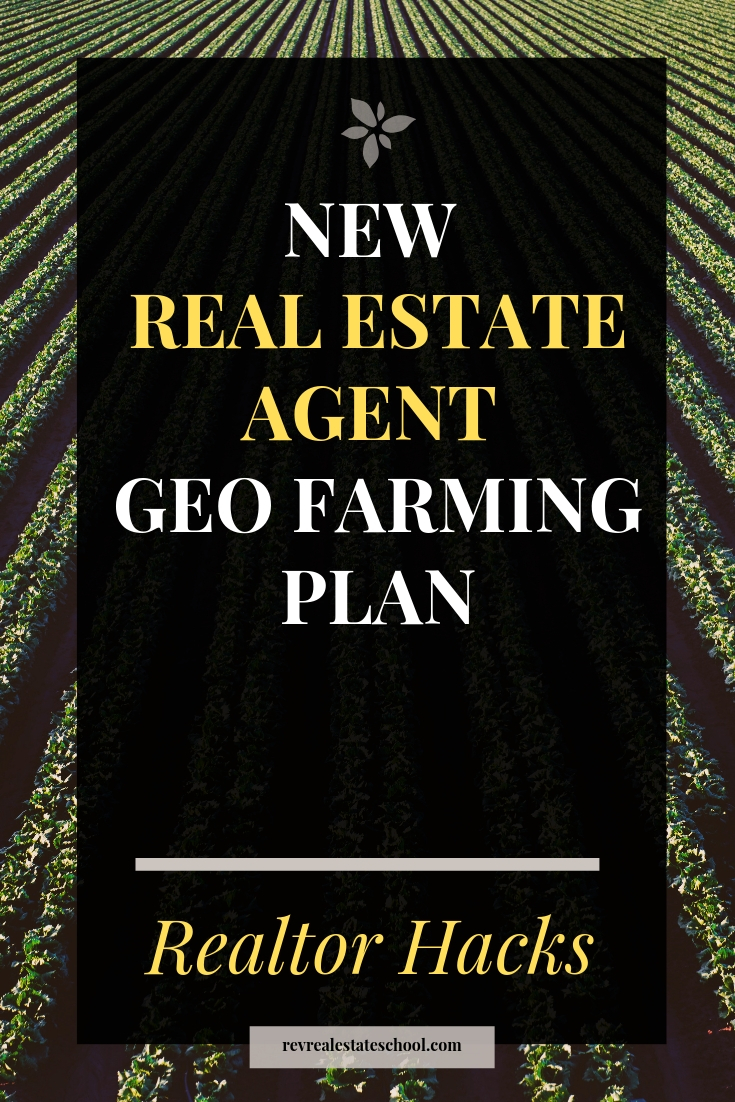New Real Estate Agent Geo Farming Plan