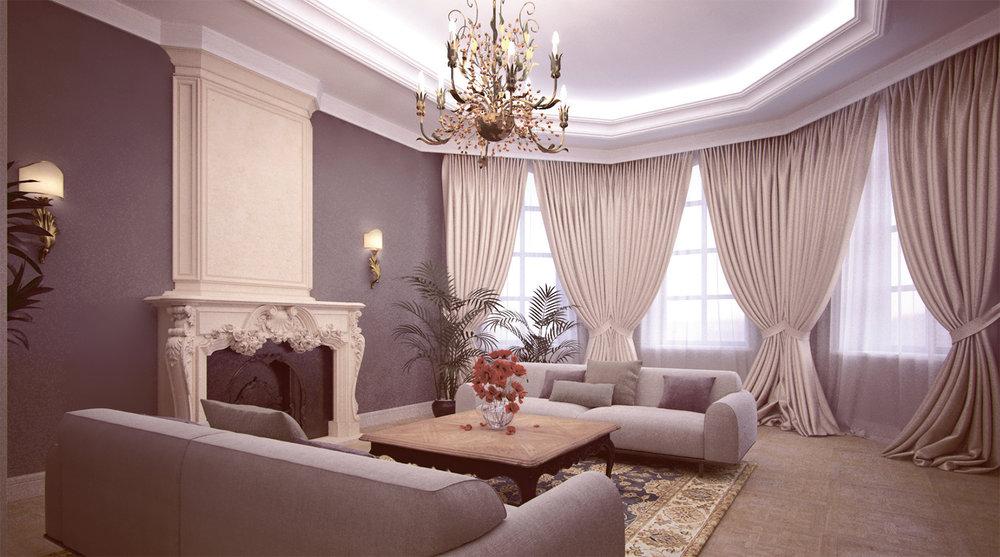 Home interior. Zelenograd, Moscow. 2013