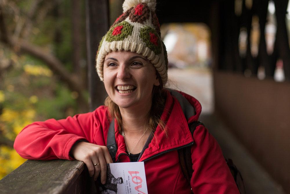 hat portrait in Vermont by Liz Cooper