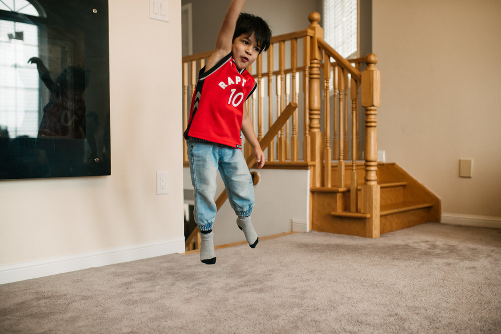 he shoots. and he scores! #jumpingKids