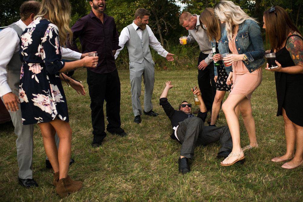 adults at weddings...