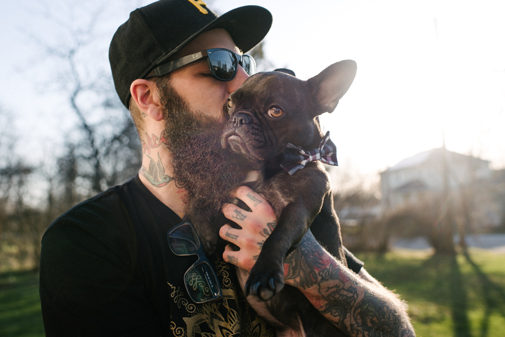 man and his dog.  #thefoundrytattoo #thefoundry #foundrytattoo #