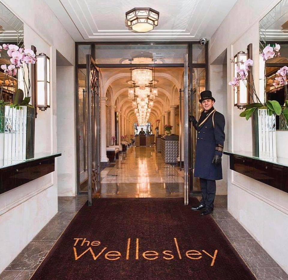 Must Go Places - The Wellesley Hotel, London