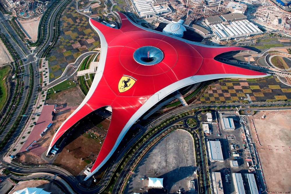Must Go Places - Dubai - Ferrari World